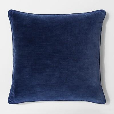 Blue Velvet Euro Throw Pillow - Threshold™