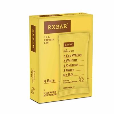 RXBAR Banana Walnut Nutrition Bar - 4ct