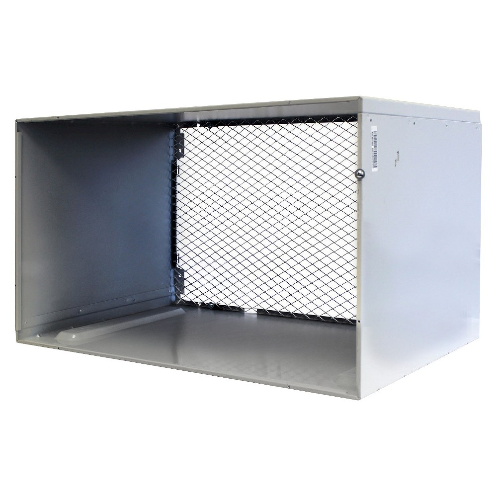 LG - 26 Wall Sleeve for Through-the-Wall Air Conditioners - White The LG AXSVA1 26 Wall Sleeve for Through-the-Wall Air Conditioners should be securely fastened within a wall opening before installing the air conditioner. The sleeve helps bear the weight of the air conditioner while keeping it insulated and safe from dust, bugs and other debris that could get sucked into it. Inclement weather, corrosion and other elements cannot match the protective power of this metal sleeve. Optional stamped aluminum rear grille (AXRGALA01) sold separately. Color: White.