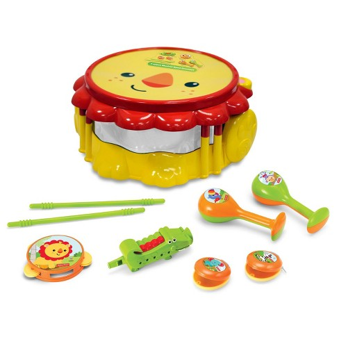 Fisher-Price Lion Musical Band Drumset - image 1 of 2