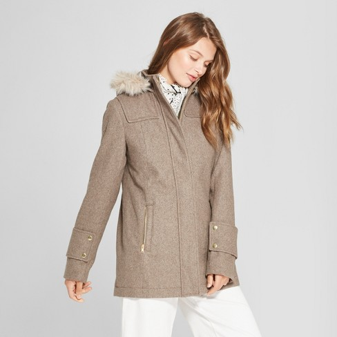 Women's Wool Duffel Coat - A New Day™ - image 1 of 3