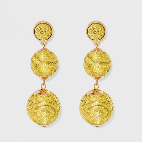 SUGARFIX by BaubleBar Ball Drop Earrings