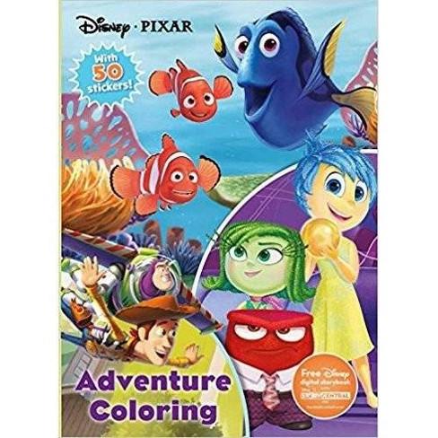 Disney Pixar 224 Page Coloring Book