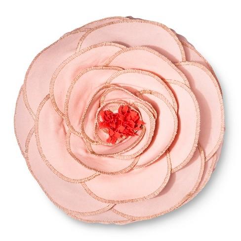 Flower Throw Pillow 12x12 Pink Pillowfort Target