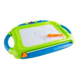 Magnetic Drawing Board with Pen, Eraser & 4 Stamps by Hey! Play!