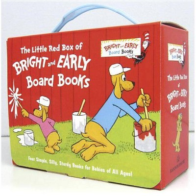 The Little Red Box of Bright and Early Board Books by P. D. Eastman and Michael Frith
