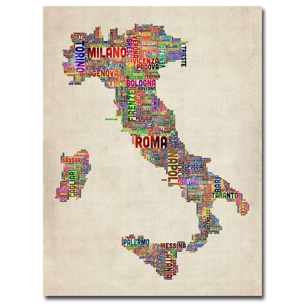 24 34 X 32 34 Italy Ii By Michael Tompsett Trademark Fine Art