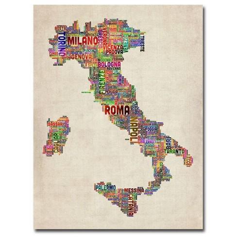 "24"" x 32"" Italy II by Michael Tompsett - Trademark Fine Art - image 1 of 4"