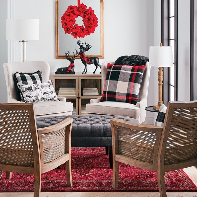 Pattern Play Holiday Living Room Decor Collection