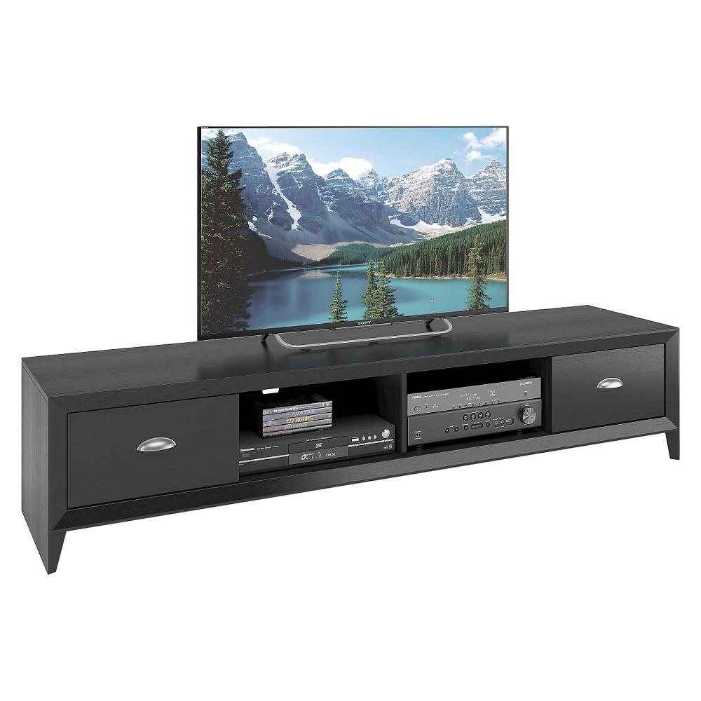 Lakewood Extra Wide TV Bench Black 80 - CorLiving