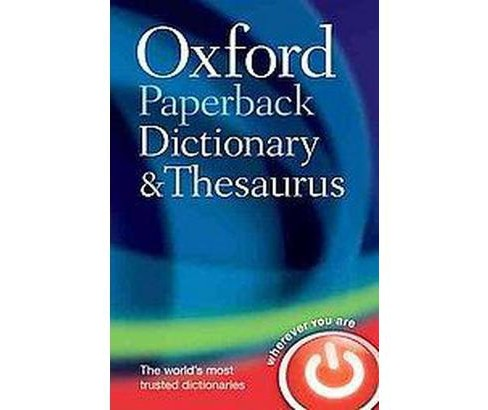 Oxford Paperback Dictionary and Thesaurus - image 1 of 1