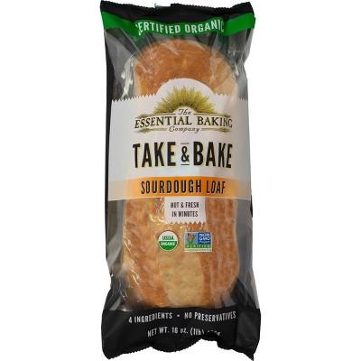 The Essential Baking Company Take & Bake Sourdough Bread - 16oz
