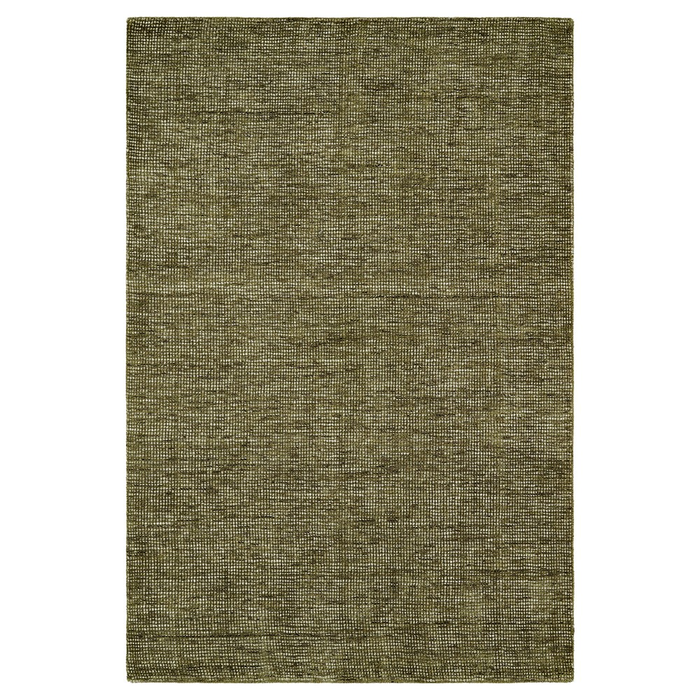 9'X13' Green Solid Loomed Area Rug - Addison Rugs