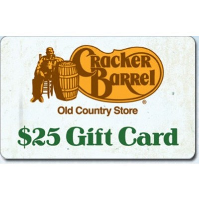 Cracker Barrel $25 (Email Delivery)