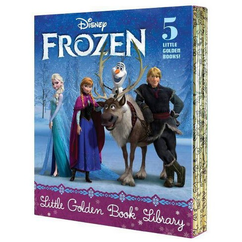 Frozen Little Golden Book Library (Disney Frozen) - by  Various (Mixed Media Product) - image 1 of 1