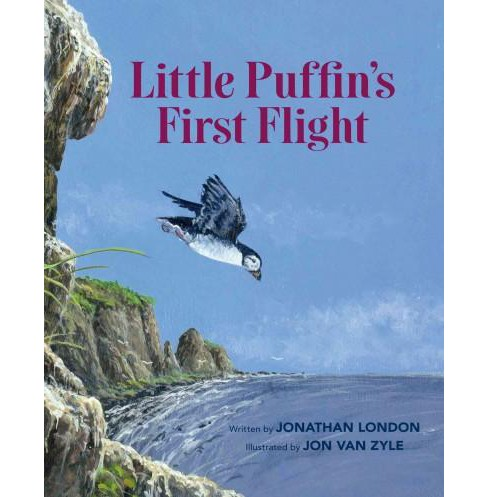 Little Puffin's First Flight (Paperback) (Jonathan London) - image 1 of 1
