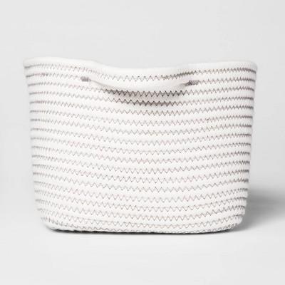 Bath Basket Crate Off White - Threshold™