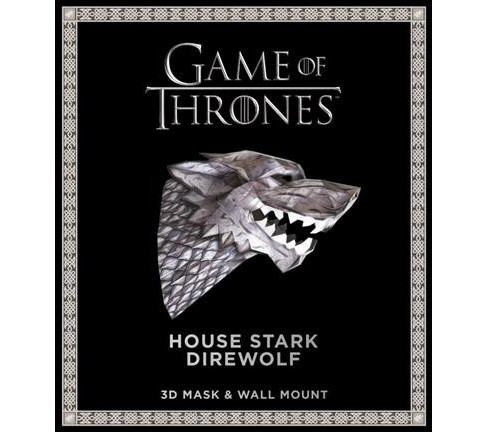 Game of Thrones Mask - House Stark Direwolf (Paperback) - image 1 of 1