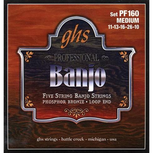 GHS Phosphor Bronze 5-String Banjo Strings Medium - image 1 of 1