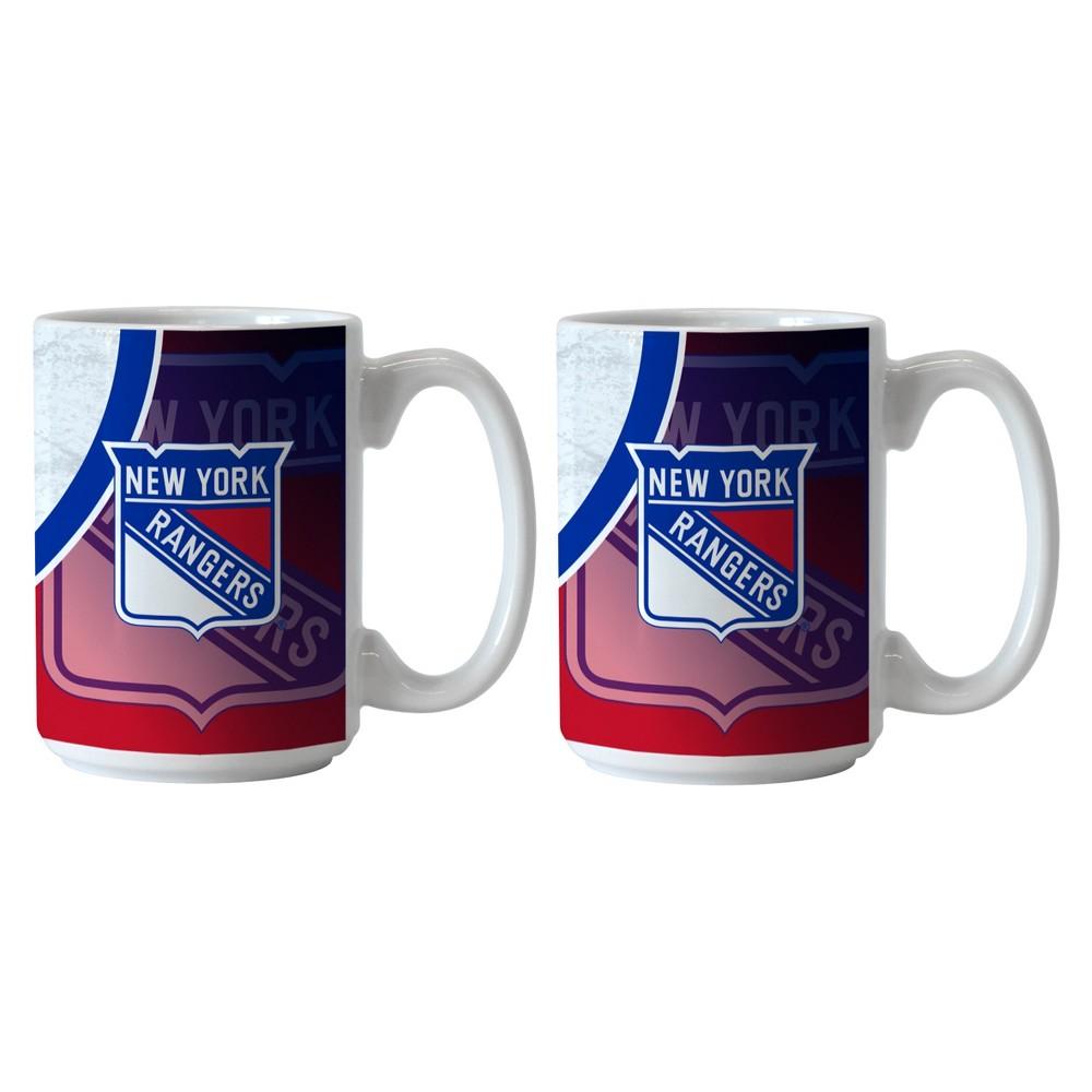 New York Rangers 2pk Rink Mug