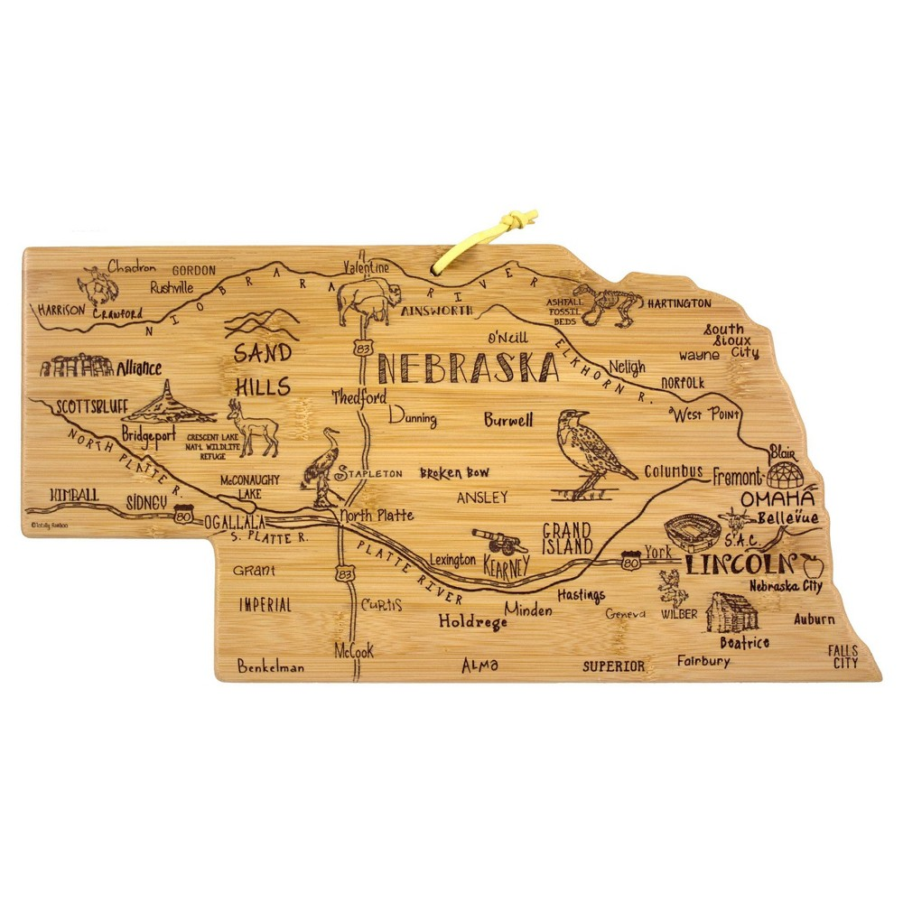 Reviews Totally Bamboo Destination Nebraska Serving and Cutting Board