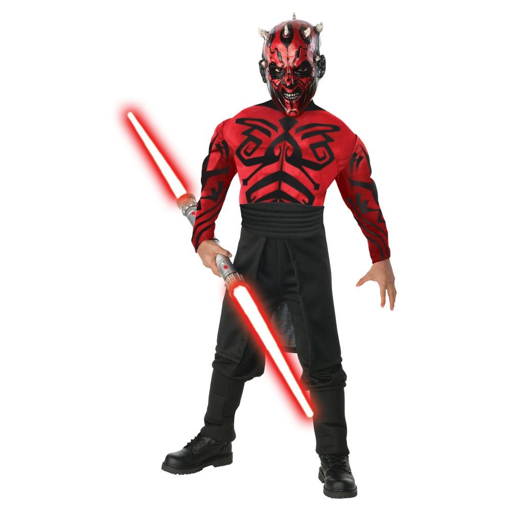 Best Price Star Wars Men Darth Maul Muscle Costume Multi Colored