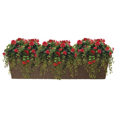"8"" Rectangular Trough Planter - Sand - Emsco - image 1 of 1"