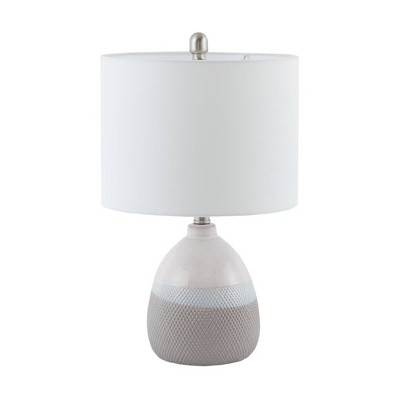 "20.5"" Driggs Table Lamp (Includes Energy Efficient Light Bulb)Gray"