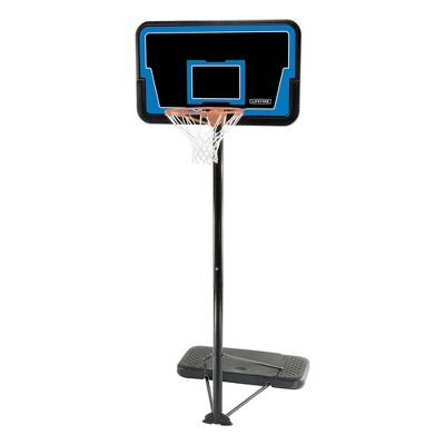 "Lifetime Stream Line 44"" Steel Portable Basketball Hoop"