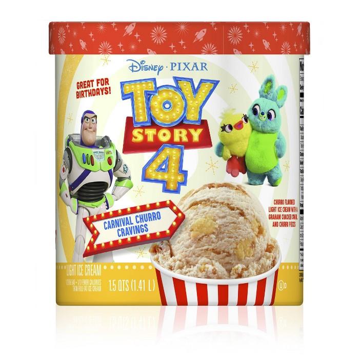 Nestle Toy Story 4 Carnival Churro Cravings Ice Cream - 48oz - image 1 of 5