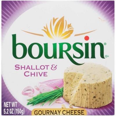 Boursin Shallot & Chive Cheese - 5.2oz