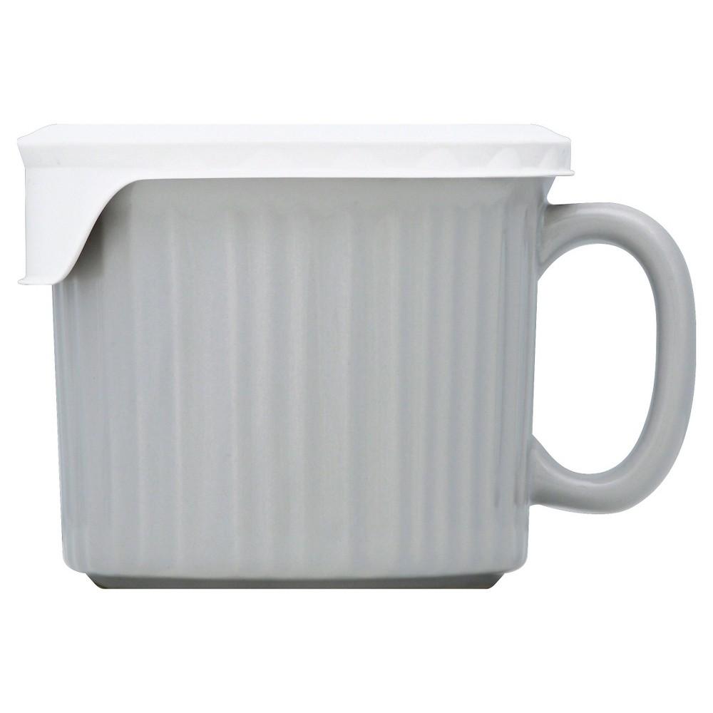 Corningware Pop In Beverage Mug Gray