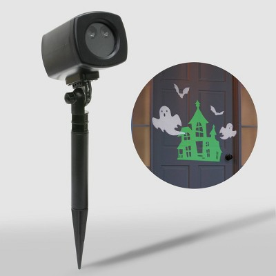 Philips LED Haunted House with Flashing Ghosts & Bats Projector Halloween Special Effects Lights
