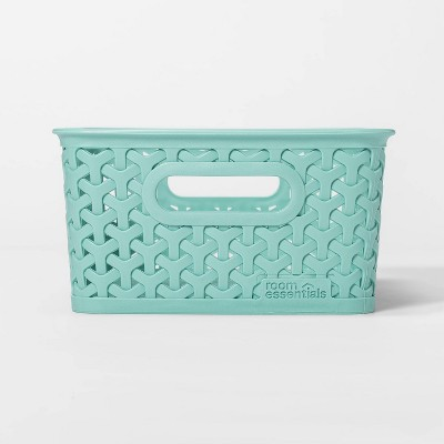 Y-Weave Small Decorative Storage Basket Jade Dust - Room Essentials™