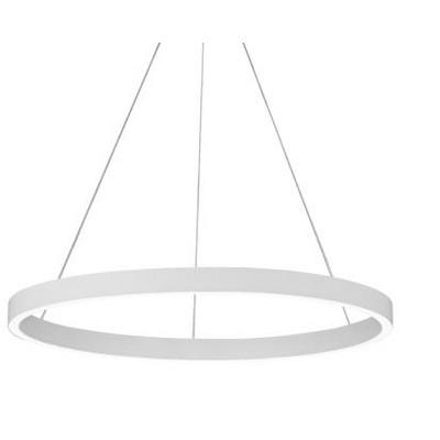 "LBL Lighting 700FIA24W-LED930 Fiama 24"" LED Modern Chandelier, White Finish"