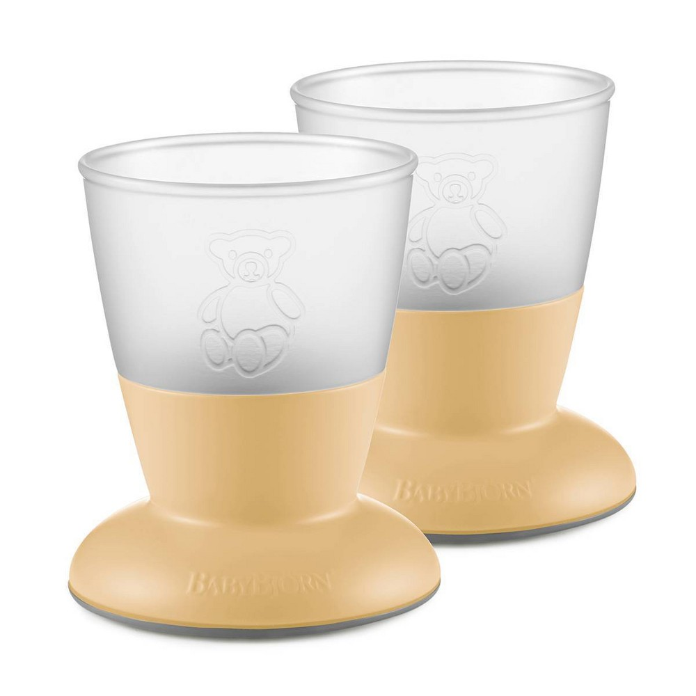 Image of BabyBjorn Cup - 2pk - Powder Yellow