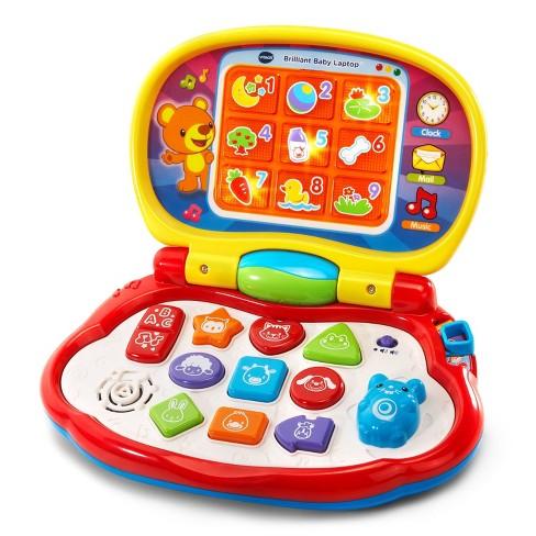 vtech baby  VTech Brilliant Baby Laptop : Target