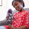 Barbie Fashionistas Doll #125 Black Floral Dress - image 2 of 4