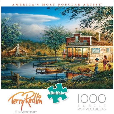 """Buffalo Games Terry Redlin 1000pc """"Summertime"""" Puzzle - image 1 of 1"""