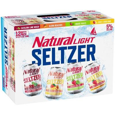 Natural Light Hard Seltzer Variety Pack - 12pk/12 fl oz Cans