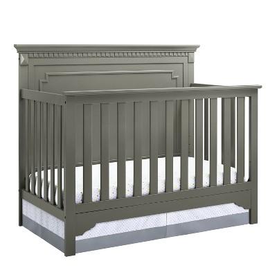 Baby Relax Edgemont 5-in-1 Convertible Crib - Graphite Gray