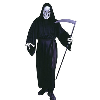 Adult Grave Reaper Halloween Costume Black One Size