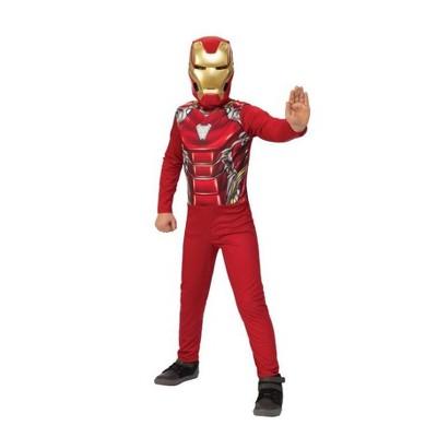 Kids' Marvel Iron Man Halloween Costume Jumpsuit with Mask