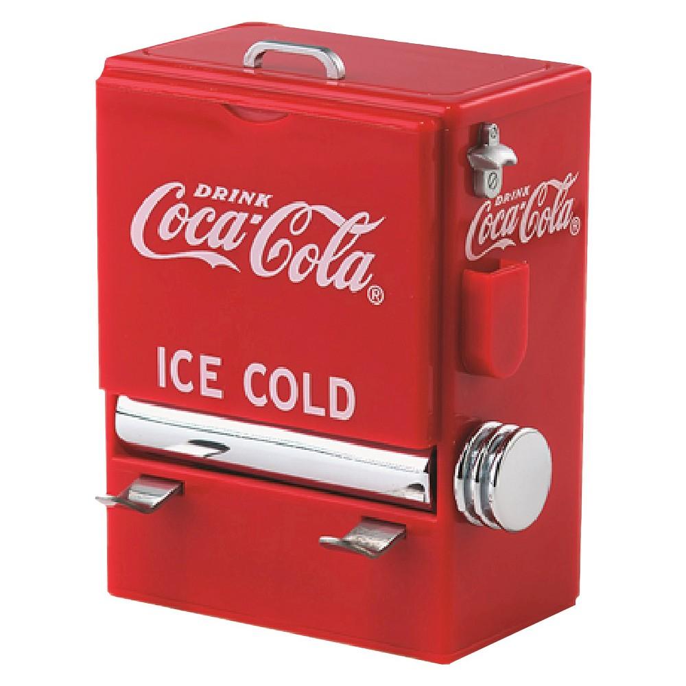 Coca-Cola Toothpick Holder, Silver