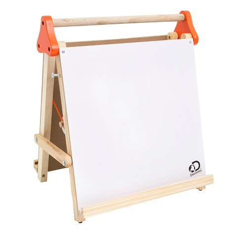 Discovery Kids Tabletop Dry Erase and Chalk Easel - image 1 of 4