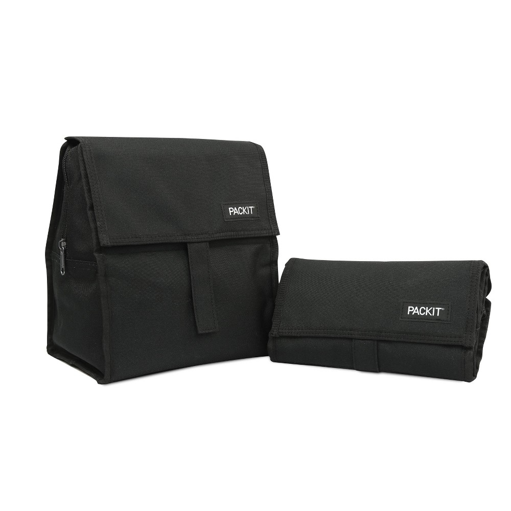Image of PackIt Freezable Lunch Sack- Black