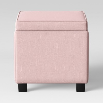Storage Ottoman With Tray Table Pink - Room Essentials™
