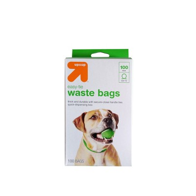 Dog Waste Disposal Easy-Tie Handle Bags - 100ct - up & up™