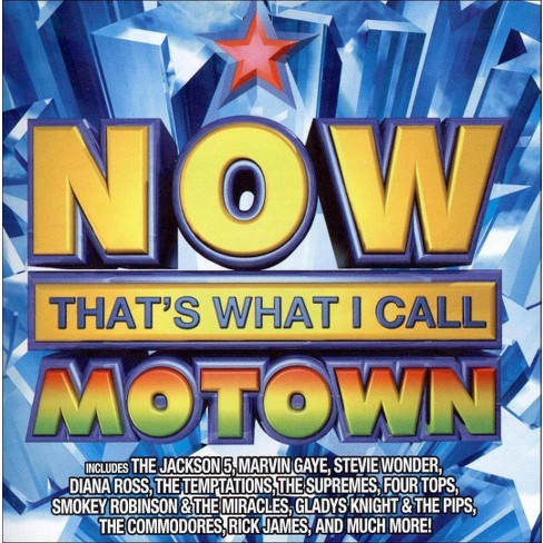 Various Artists - NOW  That's What I Call Motown (CD) - image 1 of 1