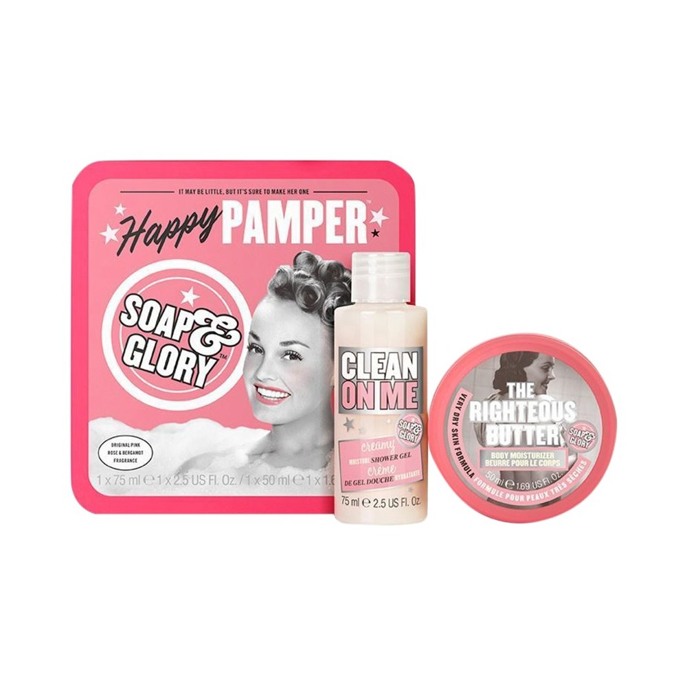 Soap & Glory Happy Pamper Gift Set